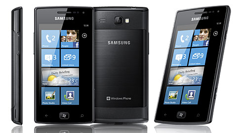 "Omnia W: Samsung kündigt erstes ""Mango-Phone"" an (Bild: Samsung)"