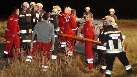 Unfallträchtige B37 in NÖ - wieder zwei Verletzte bei Unfall (Bild: Wimmer M.)