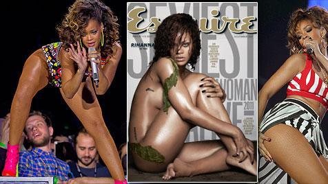 Rihanna bedankt sich für Ehrung mit Nackt-Titelbild (Bild: AP)