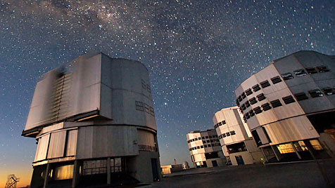 Bislang schnellster rotierender Stern entdeckt (Bild: ESO/Iztok Boncina)
