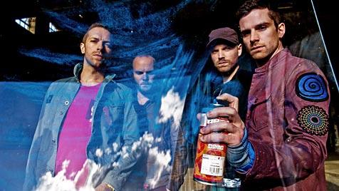 Coldplay kochen auf ihrem neuen Album italienisch (Bild: EMI Music)
