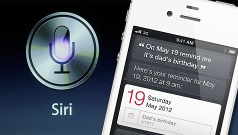 """Siri"": Apples neuer Sprachassisent beweist Humor (Bild: AP/Apple)"