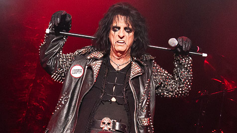 "Schock-Rocker Alice Cooper mit ""Best of""-Show in Wien (Bild: Andreas Graf)"
