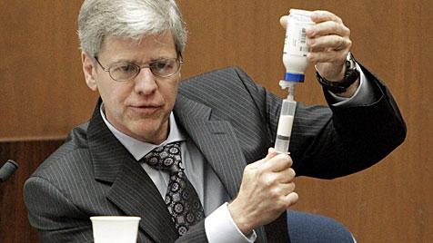 Narkose-Experte: Murray machte gravierende Fehler (Bild: EPA)