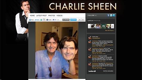 "Charlie Sheen: ""Ich gehe zu Halloween als Charlie Sheen"" (Bild: www.whosay.com)"
