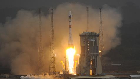 Galileo-Satelliten planmäßig ins All gestartet (Bild: EPA)