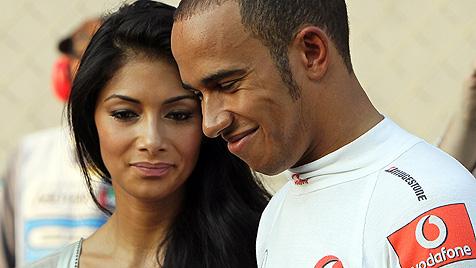 Lewis Hamilton und Nicole Scherzinger haben sich getrennt (Bild: EPA)