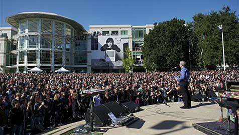 Steve Jobs wehrte sich monatelang gegen Krebs-OP (Bild: AP)