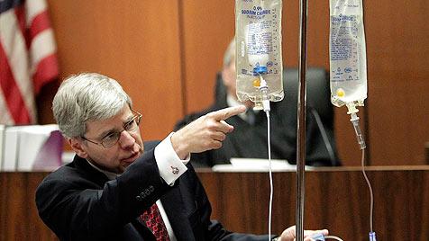 Jackson-Prozess: Narkose-Experte im Kreuzverhör (Bild: EPA)