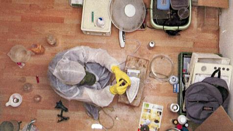 Crystal-Meth-Labor und Hanfplantagen ausgehoben (Bild: POLIZEI)
