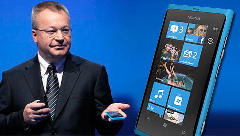Nokia präsentiert erste Windows-Smartphones (Bild: Nokia, AP)