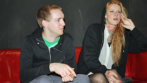 """Jennifer Rostock: """"Intentionen? Haben wir nie"""" (Bild: Isabella Waranitsch)"""