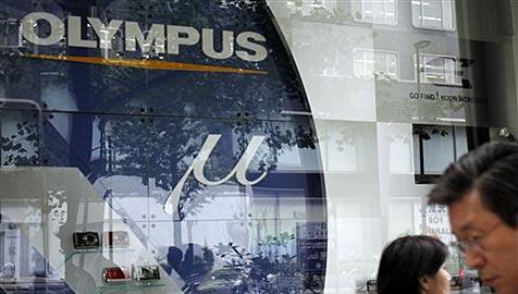 Olympus droht Börsen-Streichung - Polizei ermittelt (Bild: AP)