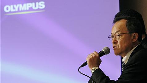 Skandal erschüttert Kamerahersteller Olympus (Bild: AP)
