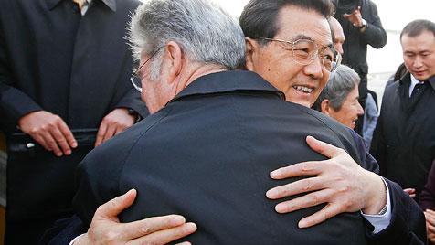 Chinas Staatschef von Salzburg zum G-20-Gipfel gereist (Bild: APA/HBF/ANDY WENZEL)