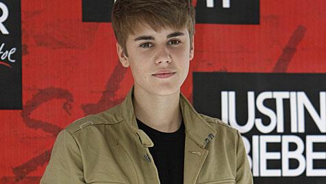 Justin Bieber soll backstage ein Kind gezeugt haben (Bild: AP)