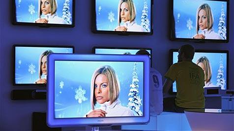 Philips verkauft Fernsehersparte nach Hongkong (Bild: AP)