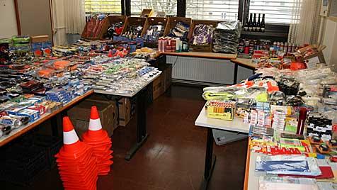 850 Coups in OÖ: Dieb hortete BHs und Damenslips (Bild: Polizei)