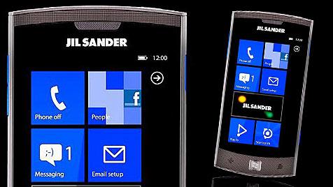 """Erstes """"Fashion Windows Phone"""" ab sofort in Österreich (Bild: Jil Sander)"""