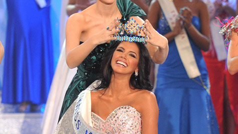 """Julia Hofer: """"Miss World 2011"""" spricht kein Wort Englisch (Bild: EPA)"""