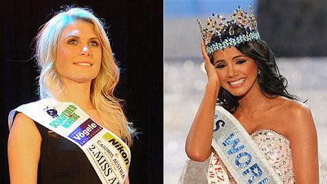 """Julia Hofer: """"Miss World 2011"""" spricht kein Wort Englisch (Bild: APA, AP)"""