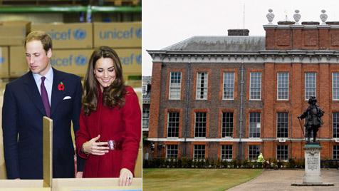 William und Kate bekommen mehr Platz im Palast (Bild: AP)