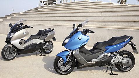 BMW pr�sentiert stolz seine Motorrad-Roller (Bild: BMW)