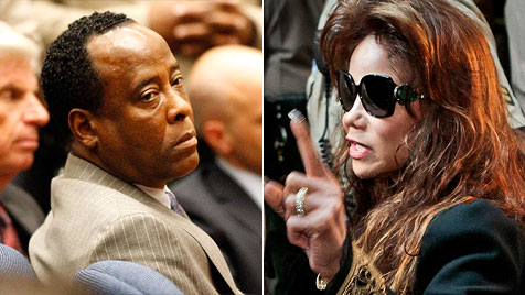"Michael Jacksons Arzt ist ""schuldig"" - LaToya: ""Sieg"" (Bild: EPA, AP)"