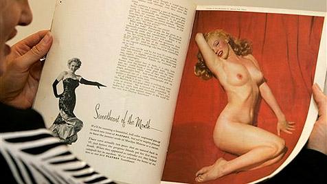 """Hefner: Lohan im Jänner-""""Playboy""""  wie einst Monroe"""