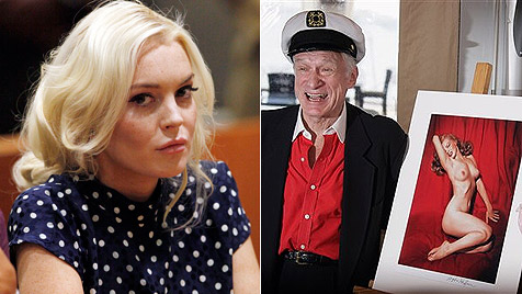 "Lindsay Lohan zeigt ""Playboy""-Fotos  im US-Fernsehen (Bild: AP)"