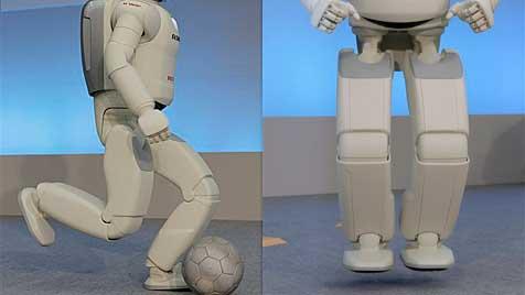 Roboter Asimo wird dem Menschen immer ähnlicher