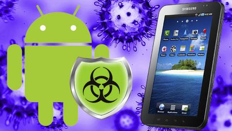 Virenscanner für Android versagen im Test (Bild: Samsung, android.com, thinkstockphotos.de, krone.at-Grafik)