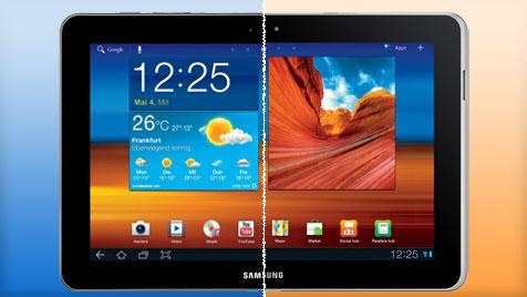 D: Samsung ändert Galaxy Tab - aber nur minimal (Bild: Samsung)