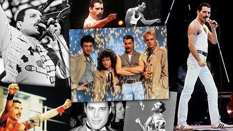 Vor 20 Jahren starb Queen-Frontmann Freddie Mercury (Bild: EMI Music, EPA, AP)