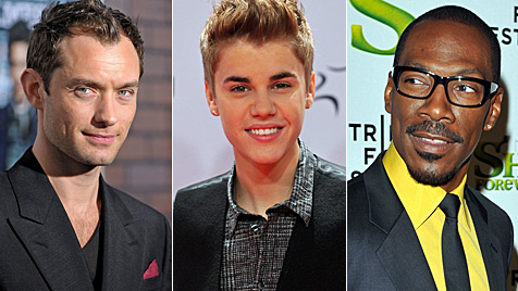 Diese Stars traten schon mal zum Vaterschaftstest an (Bild: AFP AP EPA)
