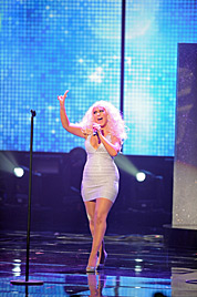 Christina Aguilera: Weniger ist nicht immer mehr (Bild: AFP)
