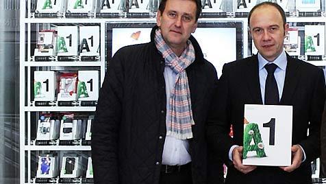 A1 eröffnet ersten Verkaufsautomaten in Wien (Bild: A1)