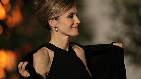 Spaniens Prinzessin Letizia wieder erschreckend dürr (Bild: AP)