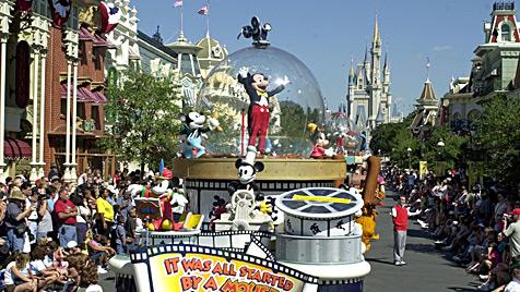Urlaub in Orlando: Wenn Kinderträume wahr werden (Bild: AP)