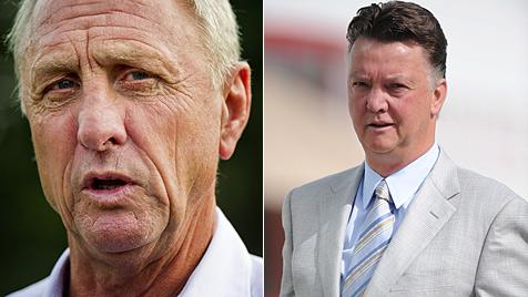 Gericht gibt Cruyff recht: Van Gaal nicht Ajax-Boss (Bild: EPA)