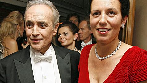 Jose Carreras und Jutta Jäger lassen sich scheiden (Bild: APA/Helmut Fohringer)
