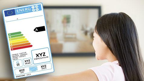 Neues Pickerl für TVs entlarvt Stromfresser (Bild: EU/ Thinkstockphotos.de)