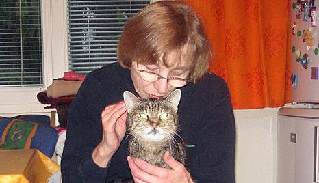Trauriger Abschied von Österreichs wohl ältester Katze (Bild: Herta Weber)