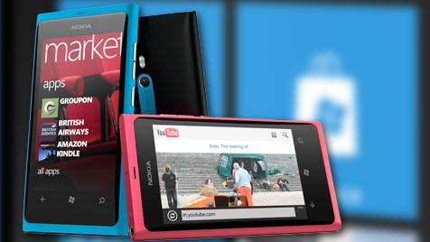 Netzbetreiber mit Nokias Windows Phones unzufrieden (Bild: Nokia)