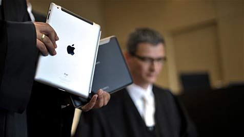 Apple muss Schadenersatz an Samsung zahlen (Bild: AP)