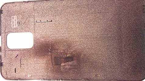 Auch Galaxy S II hat sich selbst entzündet (Bild: s2.photobucket.com/albums/y28/Silly22/)
