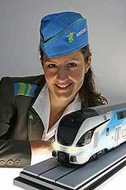 Ex-Ö3-Lady Zeller mit neuem Job & Beziehungsstatus (Bild: Westbahn)