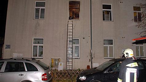 Flüchtlingsheim von zwei Burschen (15) in Brand gesteckt (Bild: Thomas Lenger/Monats Revue)