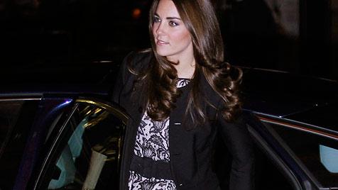 Herzogin Kate sorgt bei Barlow-Konzert für Babygerüchte (Bild: AFP, AP)