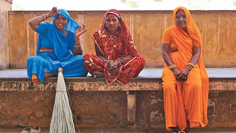 Die Farbenpracht Indiens steckt voller Geheimnisse (Bild: Karl Grammer)
